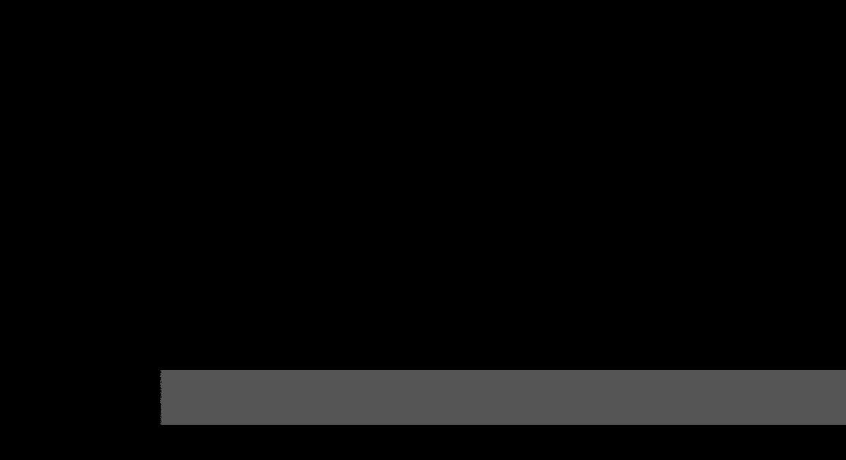 bande transparente noire